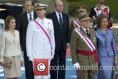Armed forces day in Madrid