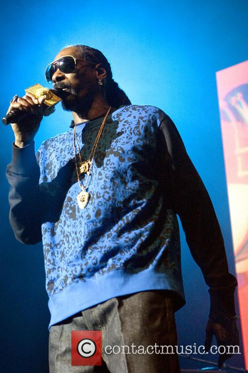 Snoop Dogg performs live in concert