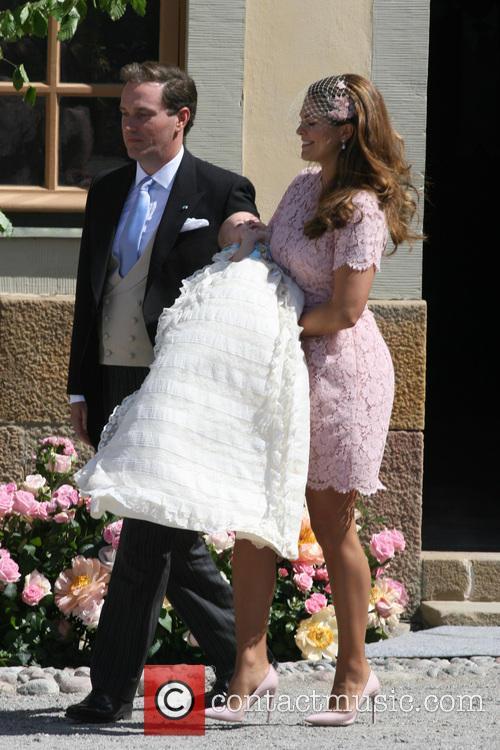 Christopher O'neill, Princess Madeleine Of Sweden and Princess Leonore 1