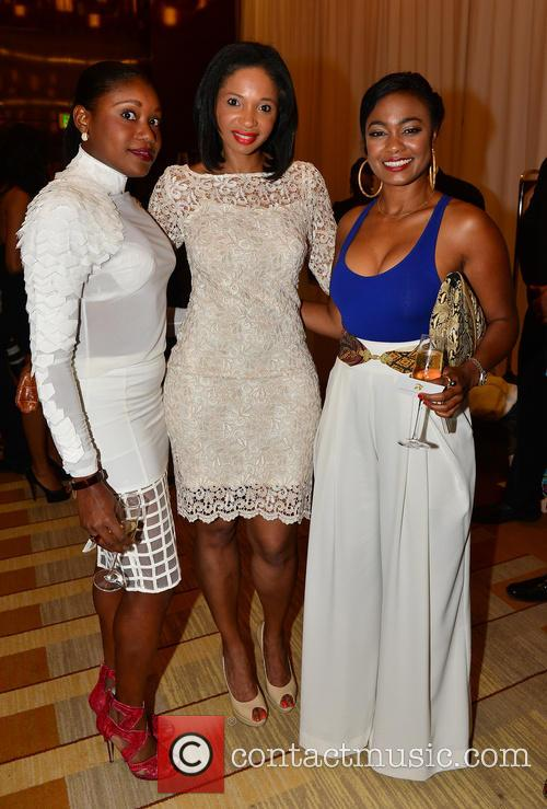 Guest, Francoise Elizee and Tatyana Ali 3