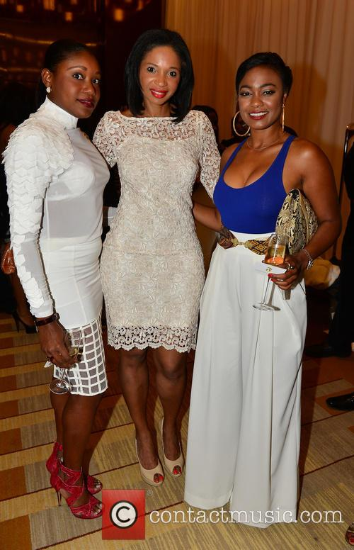 Guest, Francoise Elizee and Tatyana Ali 4
