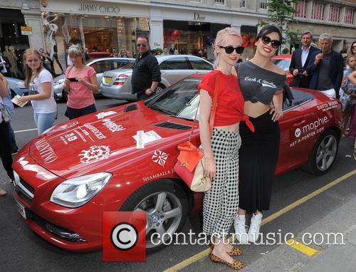 Portia Freeman and Daisy Lowe 3