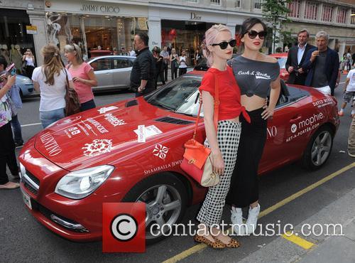 Portia Freeman and Daisy Lowe 5