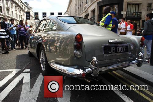 The 2014 Gumball 3000 arrives on London's Regent...