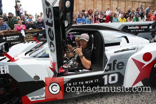 Gumball 3000 Scotland pit stop