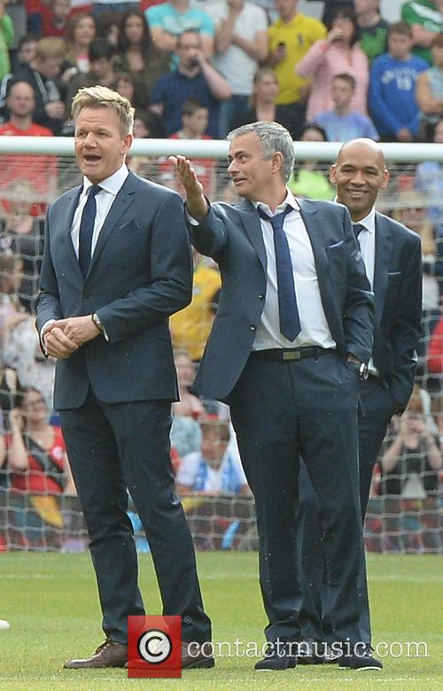 José Mourinho and Gordon Ramsay 3