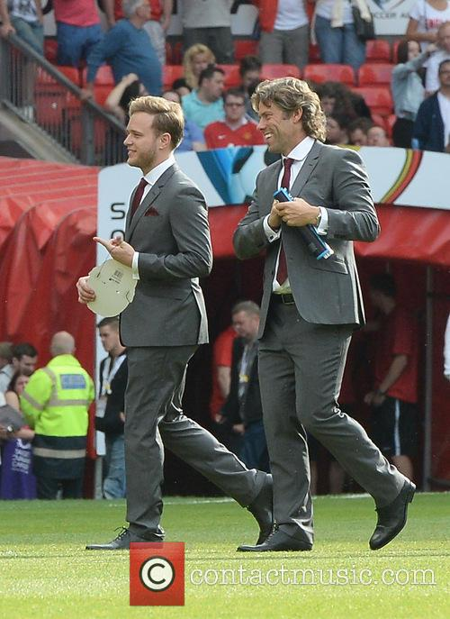 Olly Murs and John Bishop 2