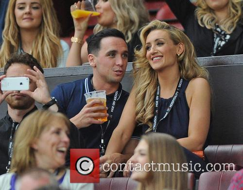 Catherine Tyldesley and Tom Pitford