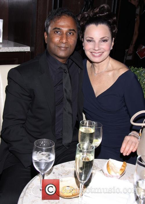 Shiva Ayyadurai and Fran Drescher 7