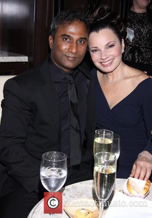 Shiva Ayyadurai and Fran Drescher 8