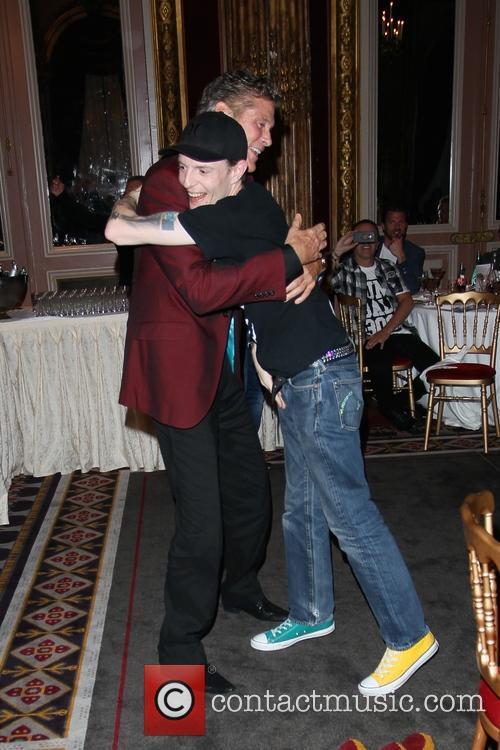 David Hasselhoff and Deadmau5 2