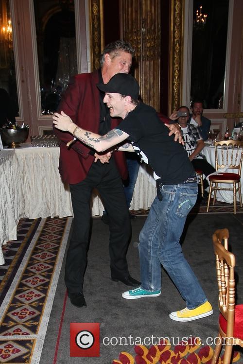 David Hasselhoff and Deadmau5