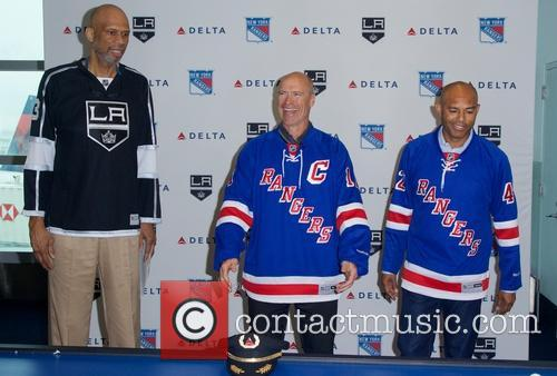 Kareem Abdul-jabbar, Mark Messier and Mariano Rivera 2