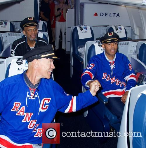 Kareem Abdul-jabbar, Mark Messier and Mariano Rivera 8