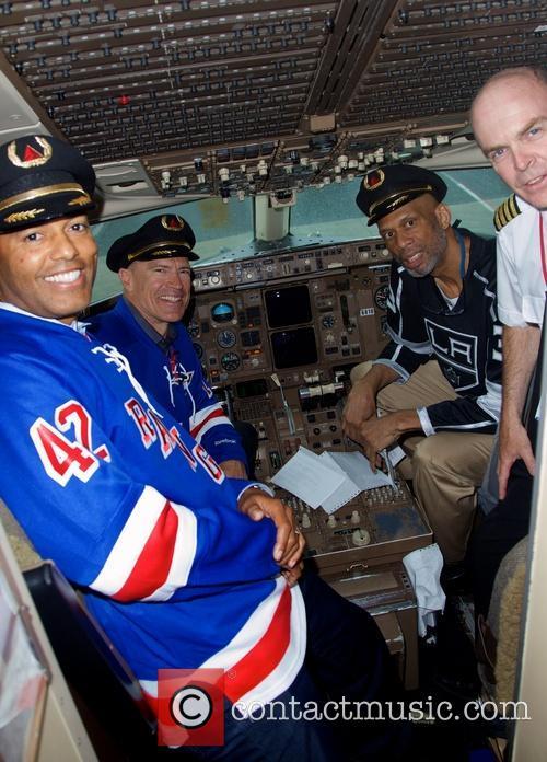 Kareem Abdul-Jabbar, Mark Messier and Mariano Rivera 11