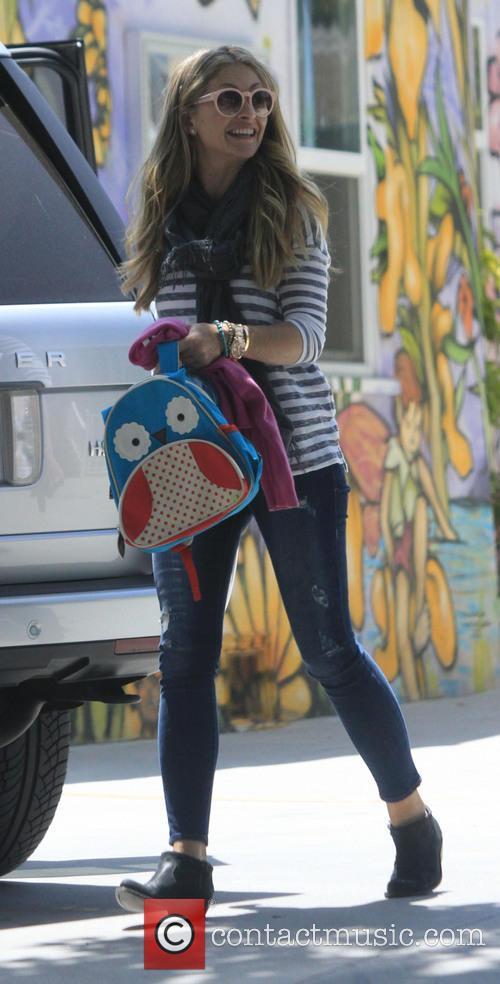 Rebecca Gayheart On The School Run