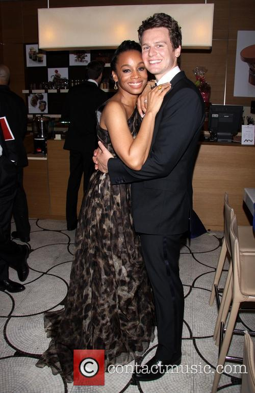 Anika Noni Rose and Jonathan Groff
