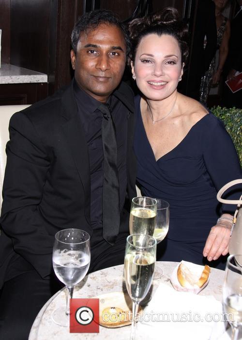Shiva Ayyadurai and Fran Drescher 4