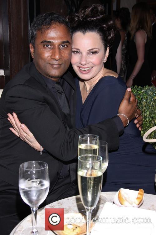 Shiva Ayyadurai and Fran Drescher 5