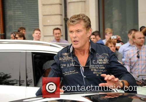 David Hasselhoff at the Gumball 3000