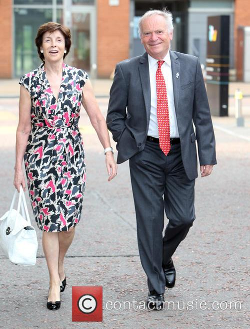 Jeffrey Archer and Wife 3