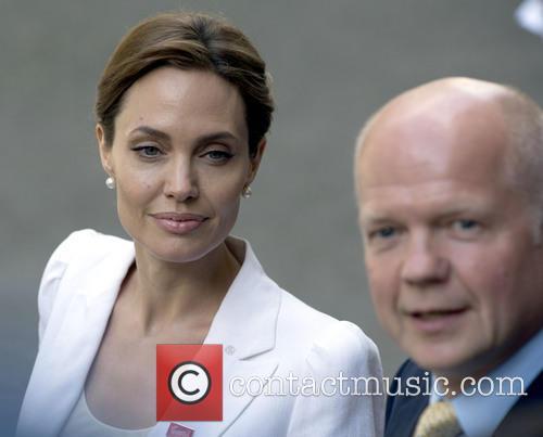 Angelina Jolie at Downing Street