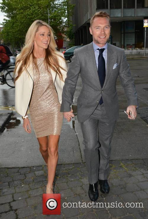 Ronan Keating and Storm Uechtritz host a dinner...