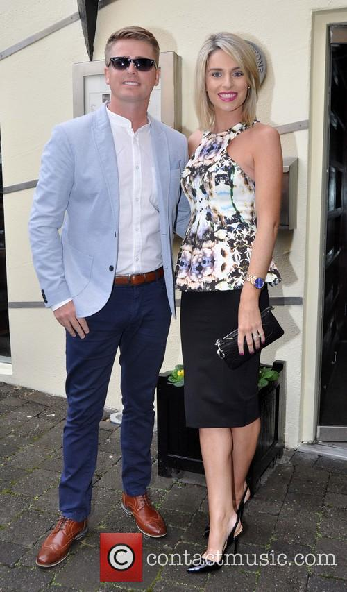 Ronan Keating, Brian Ormond and Pippa Ormond 6