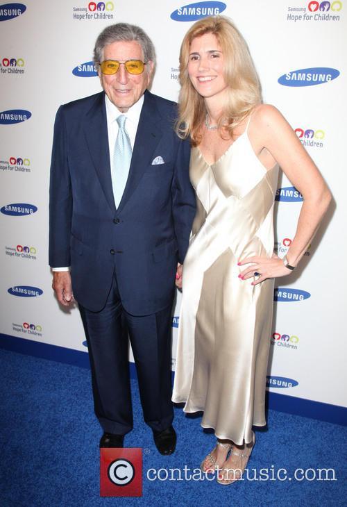 Tony Bennett and Susan Crow