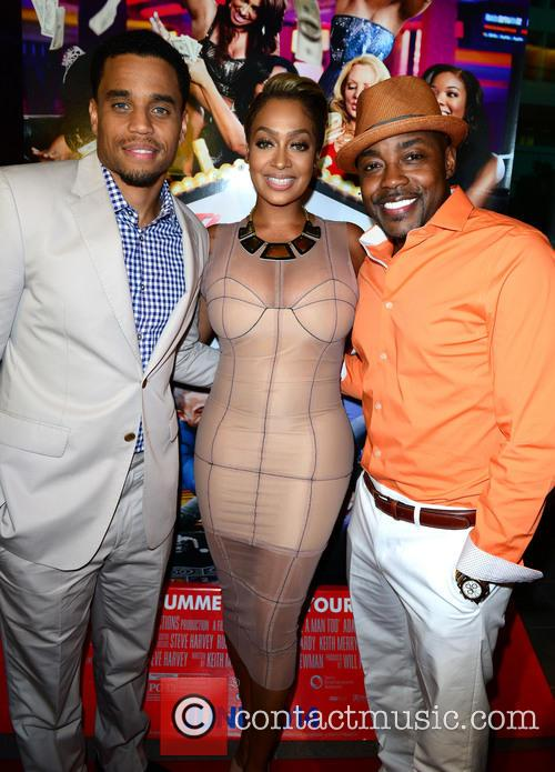 Michael Ealy, Lala Anthony and Will Packer 5