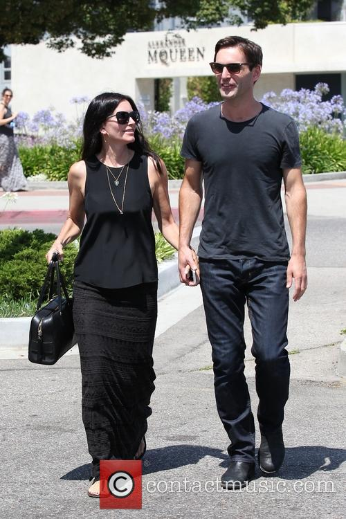 Courteney Cox and Johnny Mcdaid 2