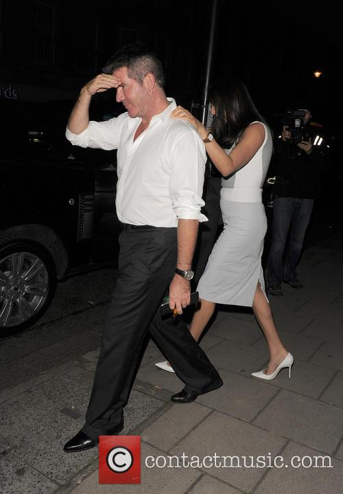 Simon Cowell and Lauren Silverman 2