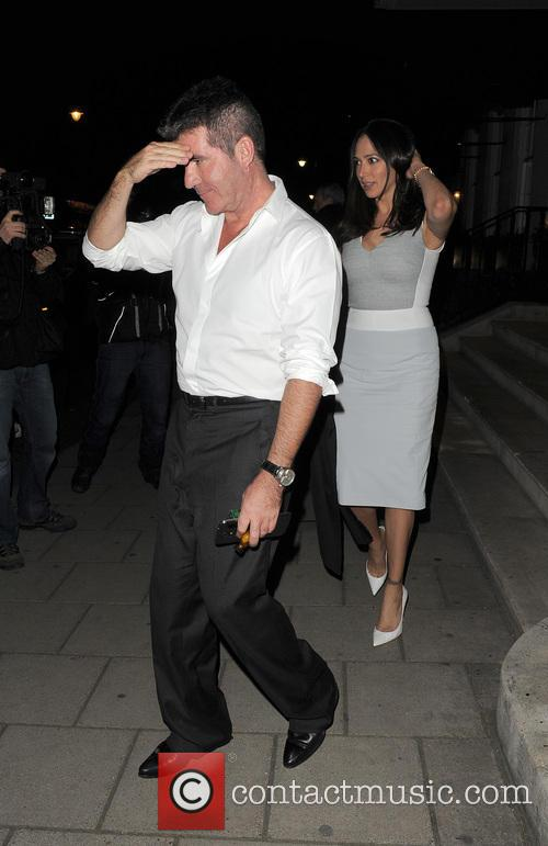 simon cowell lauren silverman simon cowell and lauren 4239027