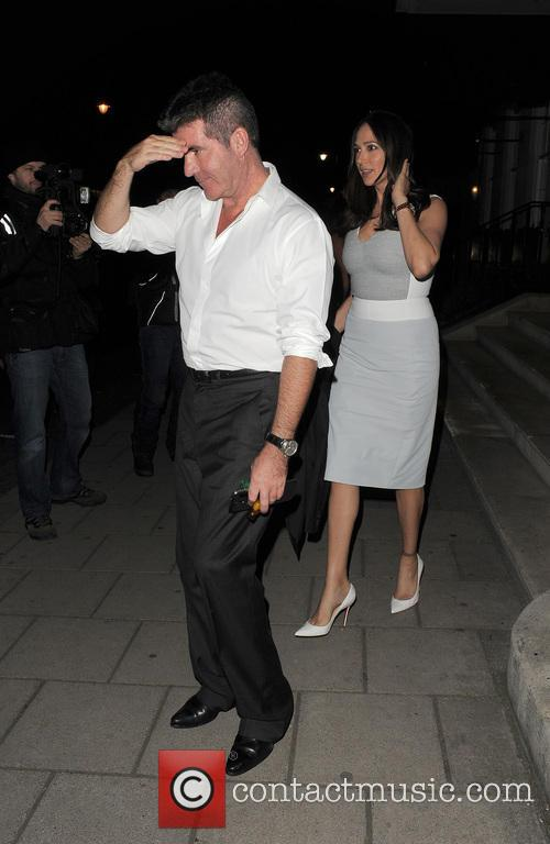 Simon Cowell and Lauren Silverman 5