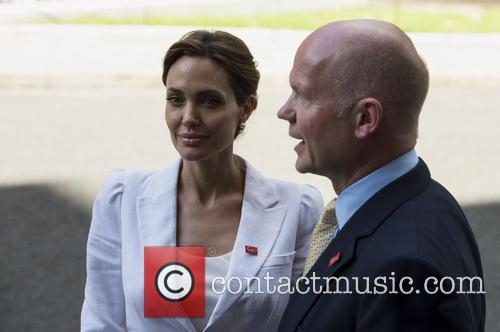 Angelina Jolie and William Hague 5
