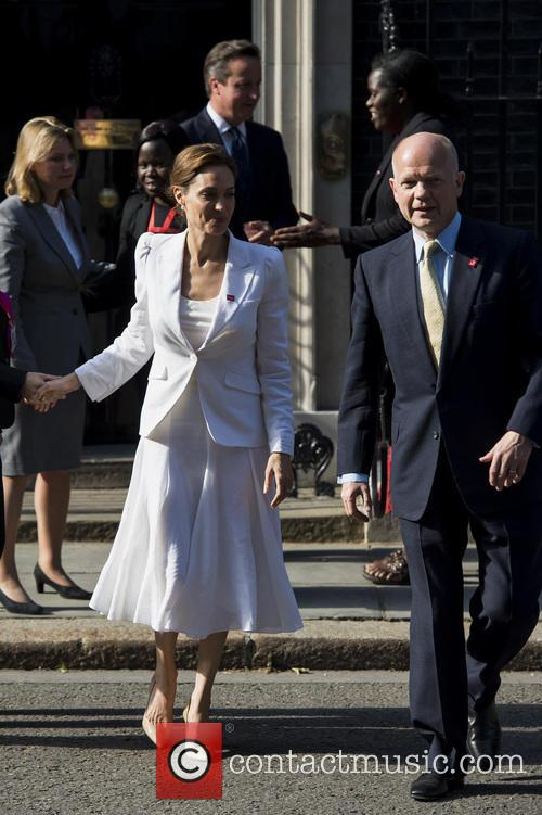 Angelina Jolie and William Hague 9