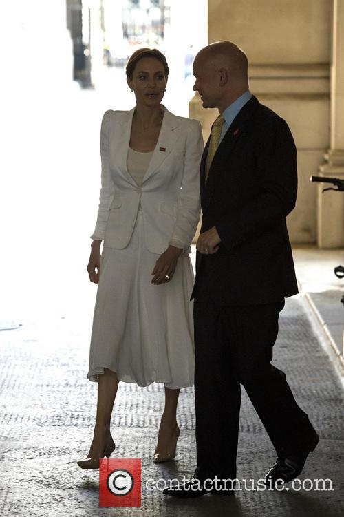 Angelina Jolie and William Hague 11