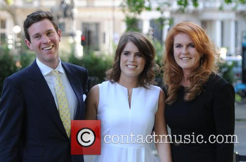 Alasdair Haynes, Princess Eugenie Of York, Duchess Of York and Sarah Ferguson 3