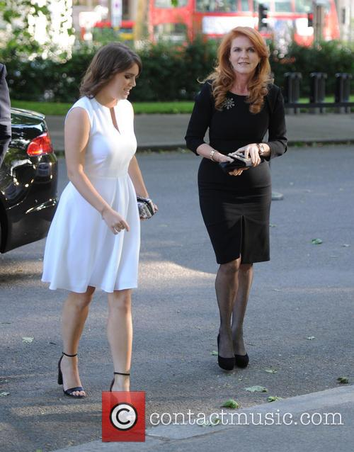 Duchess Of York, Princess Eugenie Of York and Sarah Ferguson 9