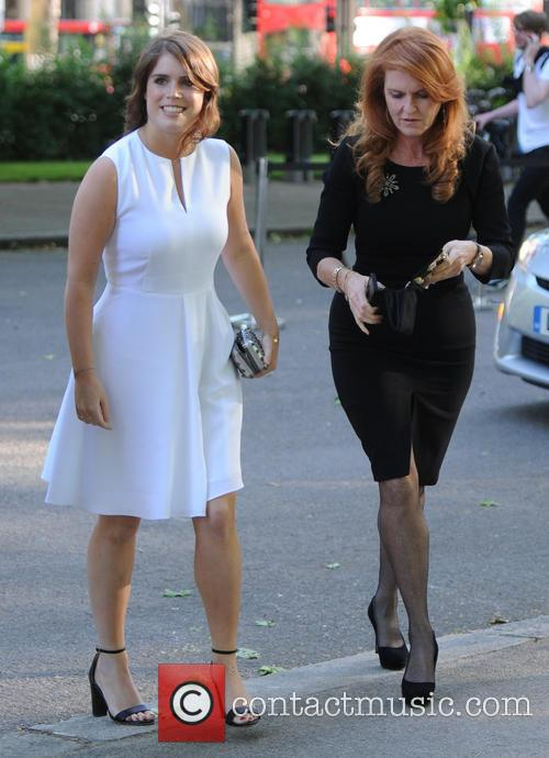 Princess Eugenie Of York, Duchess Of York and Sarah Ferguson 5
