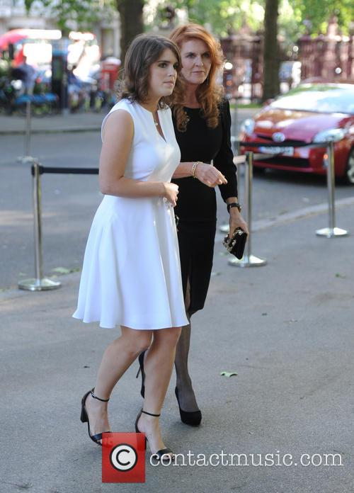 Princess Eugenie Of York, Duchess Of York and Sarah Ferguson 6