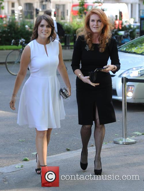 Princess Eugenie Of York, Duchess Of York and Sarah Ferguson 7