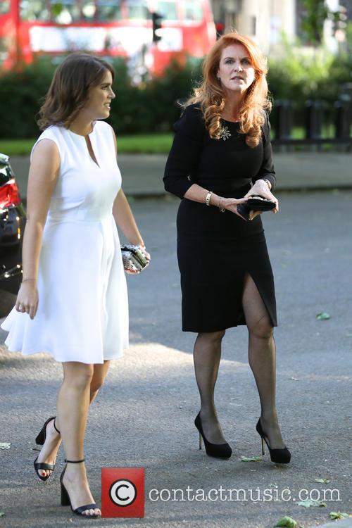 Duchess Of York and Princess Eugenie 10