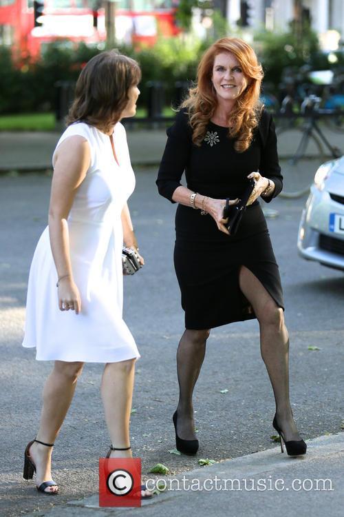 Duchess of York and Princess Eugenie 3