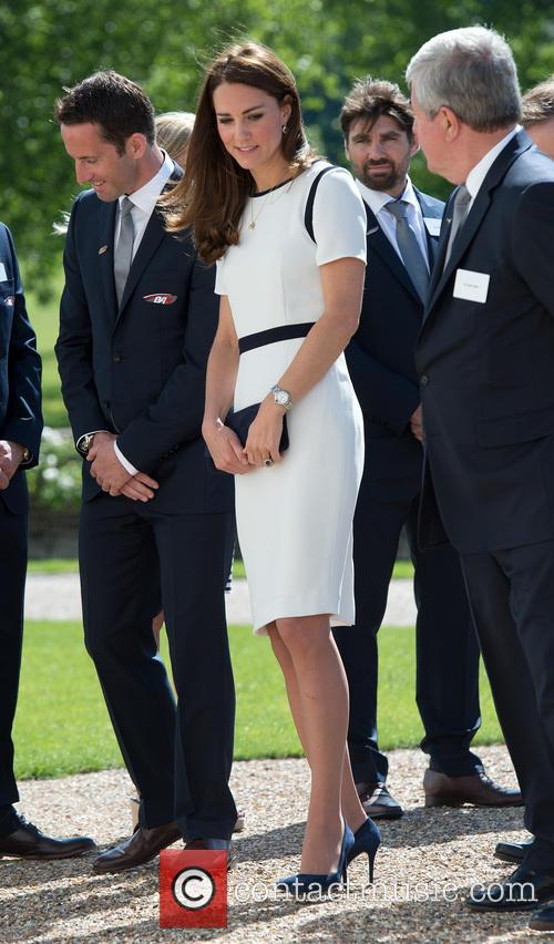 Catherine, Duchess of Cambridge attends a breakfast reception