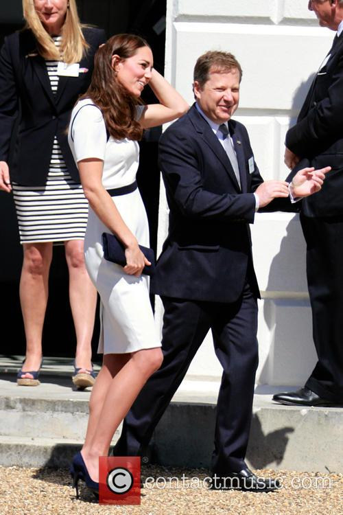 Duchess of Cambridge Catherine Middleton at the Maritime...