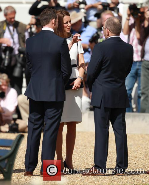 Catherine Middleton, Duchess Of Cambridge, Sir Ben Ainslie and Kate Middleton 2