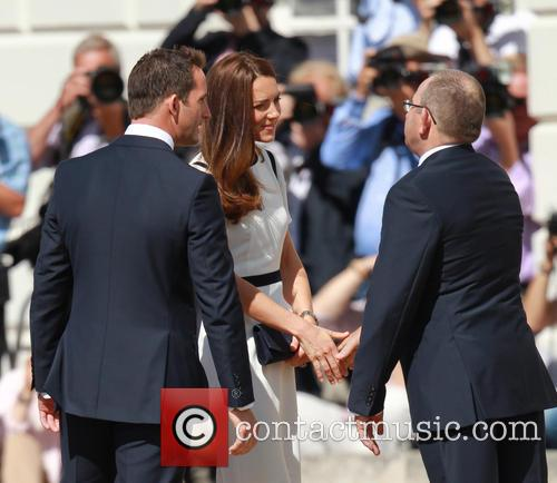 Catherine Middleton, Duchess Of Cambridge, Sir Ben Ainslie and Kate Middleton 4
