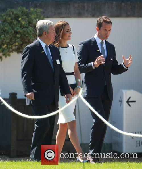Catherine Middleton, Kate Middleton, Duchess Of Cambridge, Sir Keith Mills and Sir Ben Ainslie 11