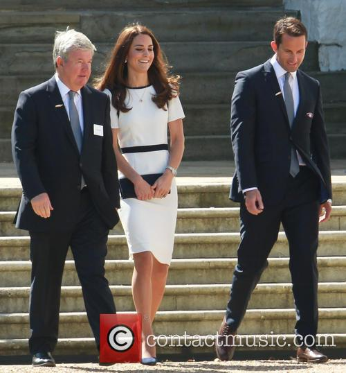 Catherine Middleton, Kate Middleton, Duchess Of Cambridge, Sir Ben Ainslie and Sir Keith Mills 1